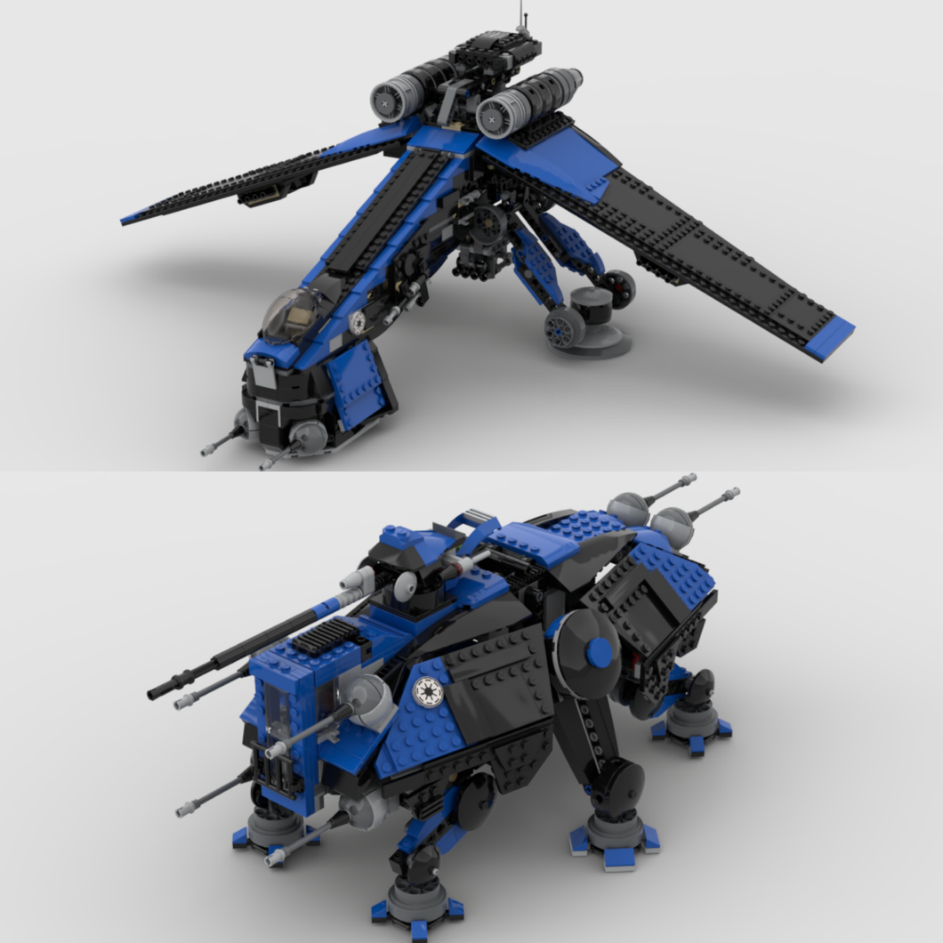 Shadow 501st DROPSHIP & AT-OT / AT-TE (COMBO SET)