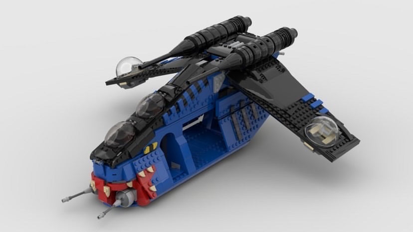 "NEW! Shadow Muunilinst 10 Republic Gunship ""Typhoon"" 1/10 Exclusive Set"