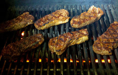 Smoky Grilled Sirloin Steaks 2020