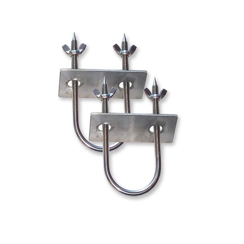 "Stainless Rotisserie Trussing U-Bolt - 6"" - 2 Pack"
