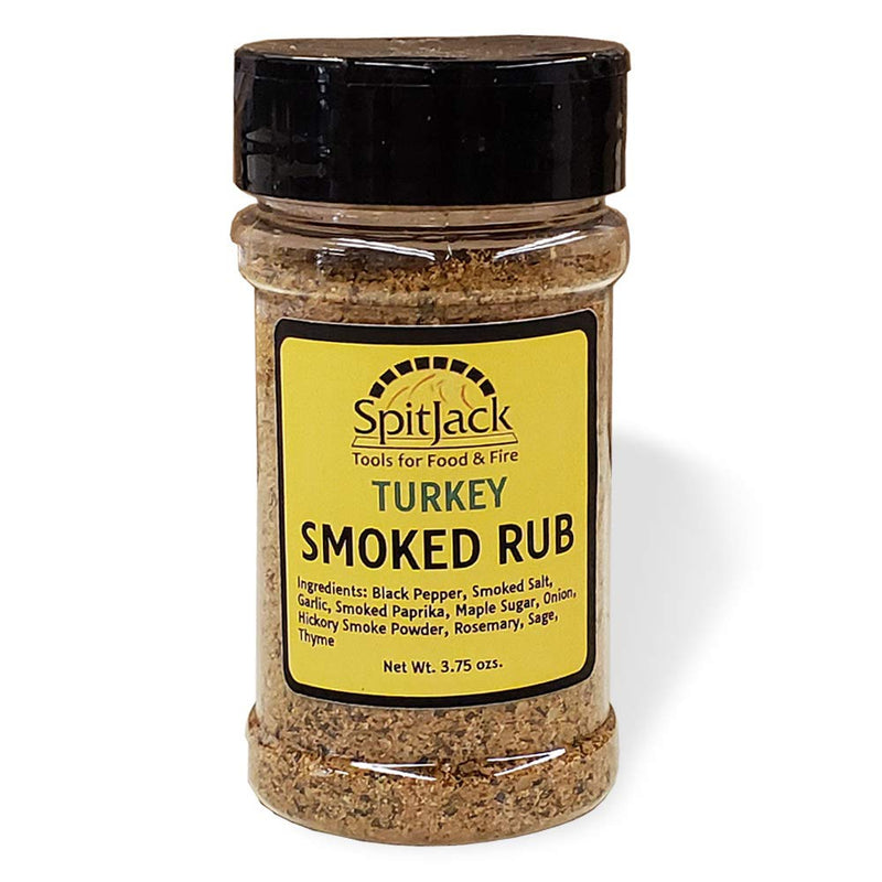 SpitJack Smoked Turkey Rub and BBQ Chicken Salt Seasoning