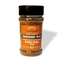 SpitJack Smoked Pork Rub and BBQ Rib Rub Salt Seasoning