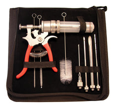 The SpitJack Magnum Meat Injector - Complete Kit with Case