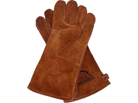 SpitJack Fireplace & BBQ Gloves (Brown)