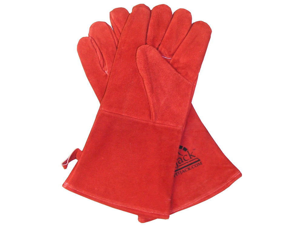 SpitJack Fireplace & BBQ Gloves (Red)