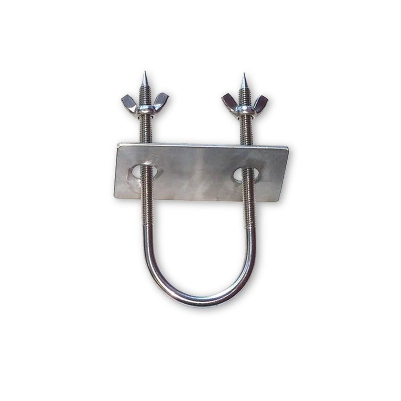 Stainless Rotisserie Trussing U-Bolt - 6""
