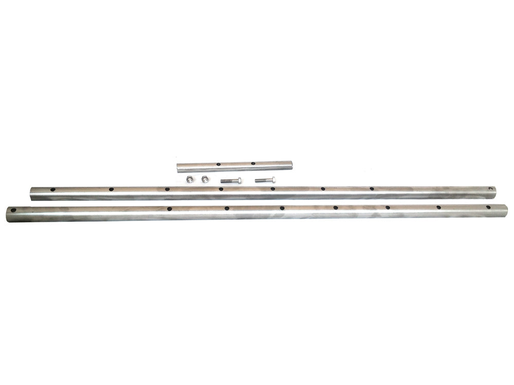 Stainless Steel Rotisserie Spit - 1 inch OD - 72 inch - 2 piece