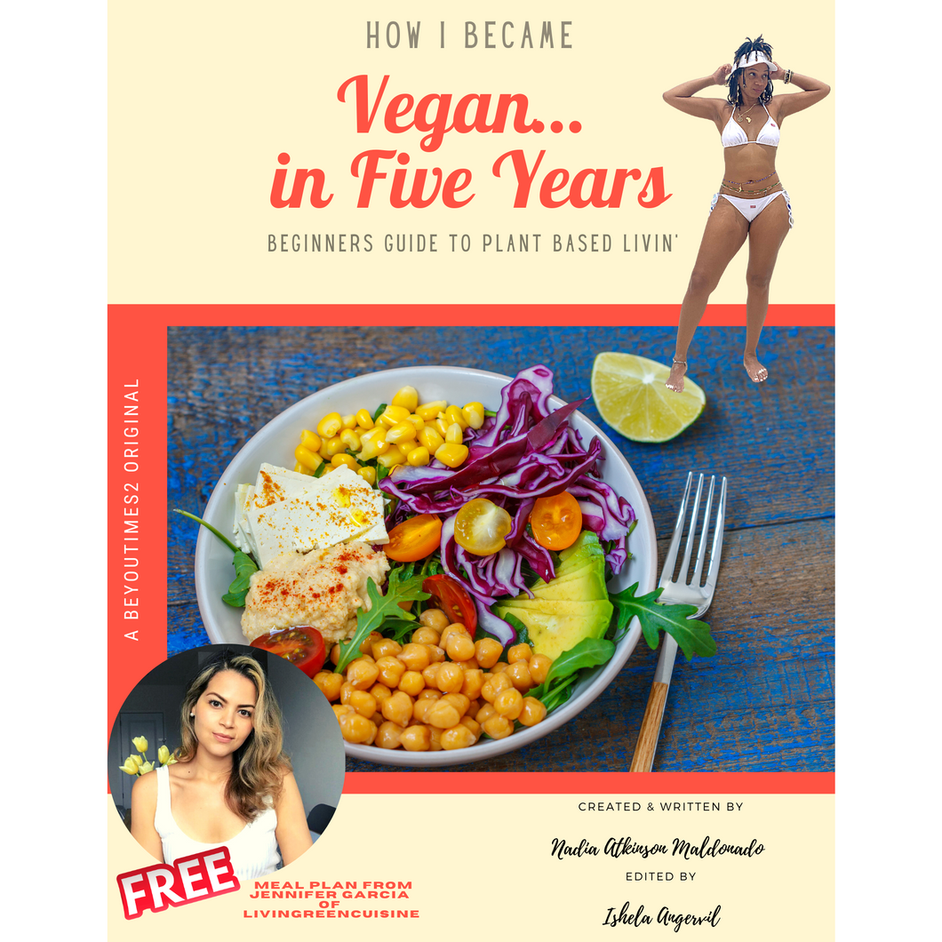 How I Became Vegan... in Five Years!