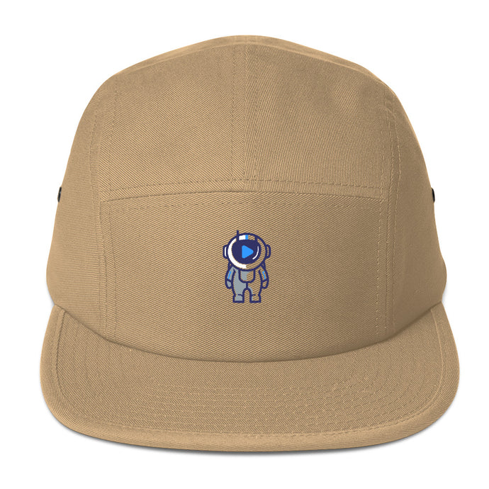 Logo #freeasf Five Panel Cap