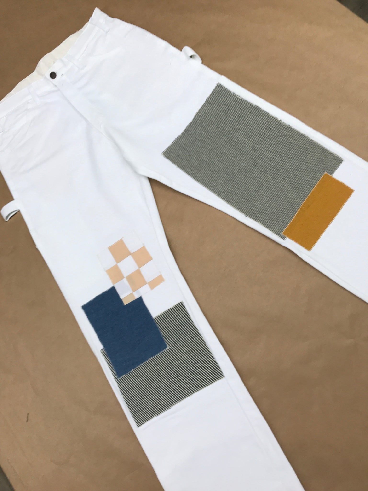 Patchwork Painters Pants
