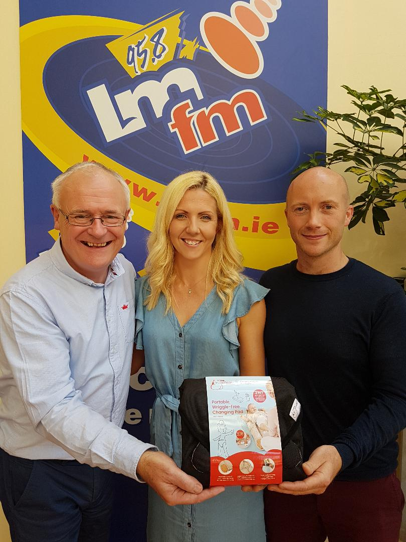The Wriggler changing mat for babies and toddlers featured on LMFM