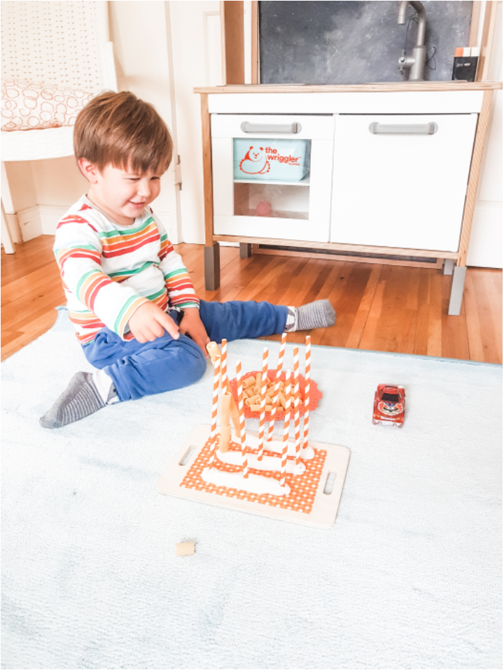 Toddler cognitive development play idea visual processing