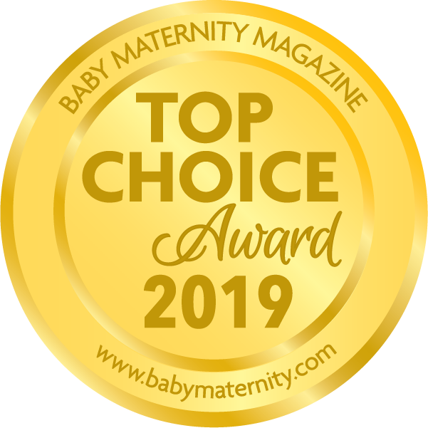 The Wriggler changing pad wins Baby Maternity Magazine Top Choice Award 2019