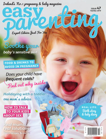The Wriggler changing pad featured in parenting magazine