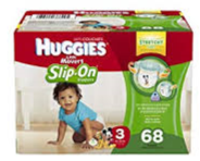 Huggies slip ons new generation diaper pull up pants for babies on the move