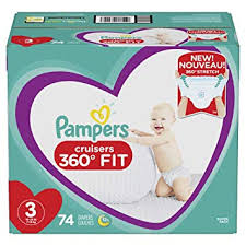 Pampers cruisers 360 new generation diaper pull ups for babies on the move