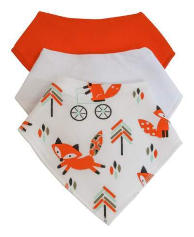 Soft and Cosy 3-pack Cotton Bandana Bibs