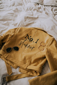 """No. 1 Stunner"" Leather Jacket"