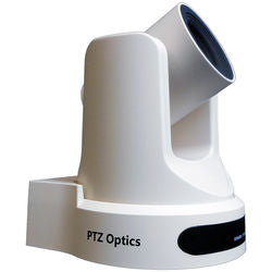 PTZOptics 20x-USB Gen2 Live Streaming Camera (White)
