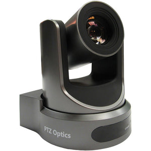PTZOptics 20x NDI Camera with C Style Power Supply (Gray)