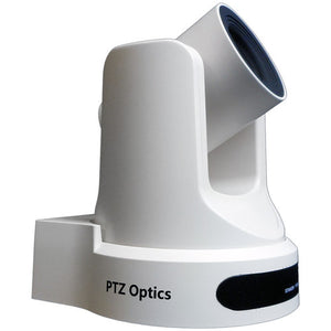 PTZOptics 20x-SDI Gen2 Live Streaming Camera (White)
