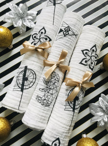 Mini Lux Swaddle blankets