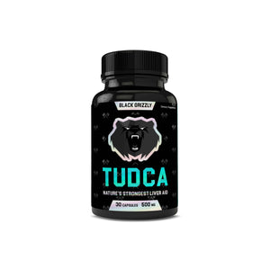Black Grizzly TUDCA 500mg 30ct Capsules