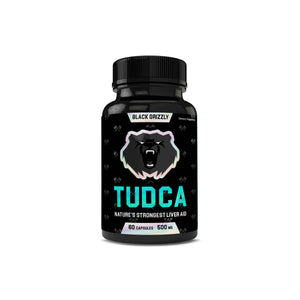 Black Grizzly TUDCA 500mg 60ct Capsules