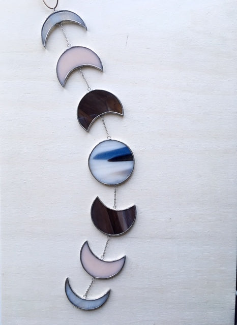Neopolitan • Moon Mobile in Stained Glass
