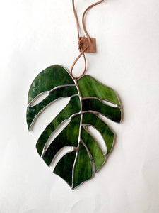 Monstera Leaf • Forest