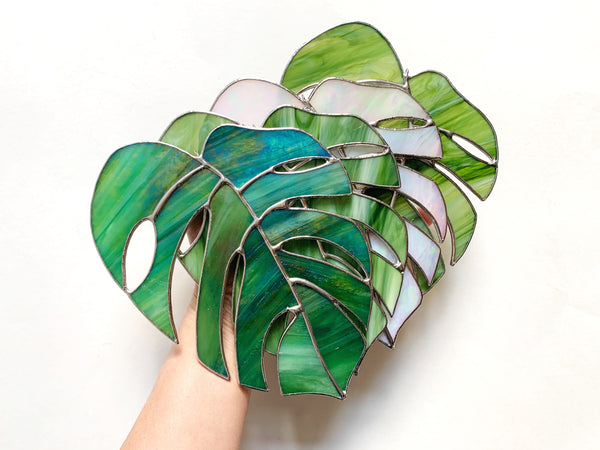MADE TO ORDER • Monstera Leaf