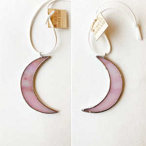 "3"" Moon • Iridescent Pink"