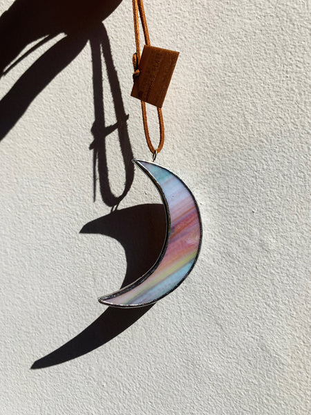 "Multicolor • 3"" Crescent Moon"