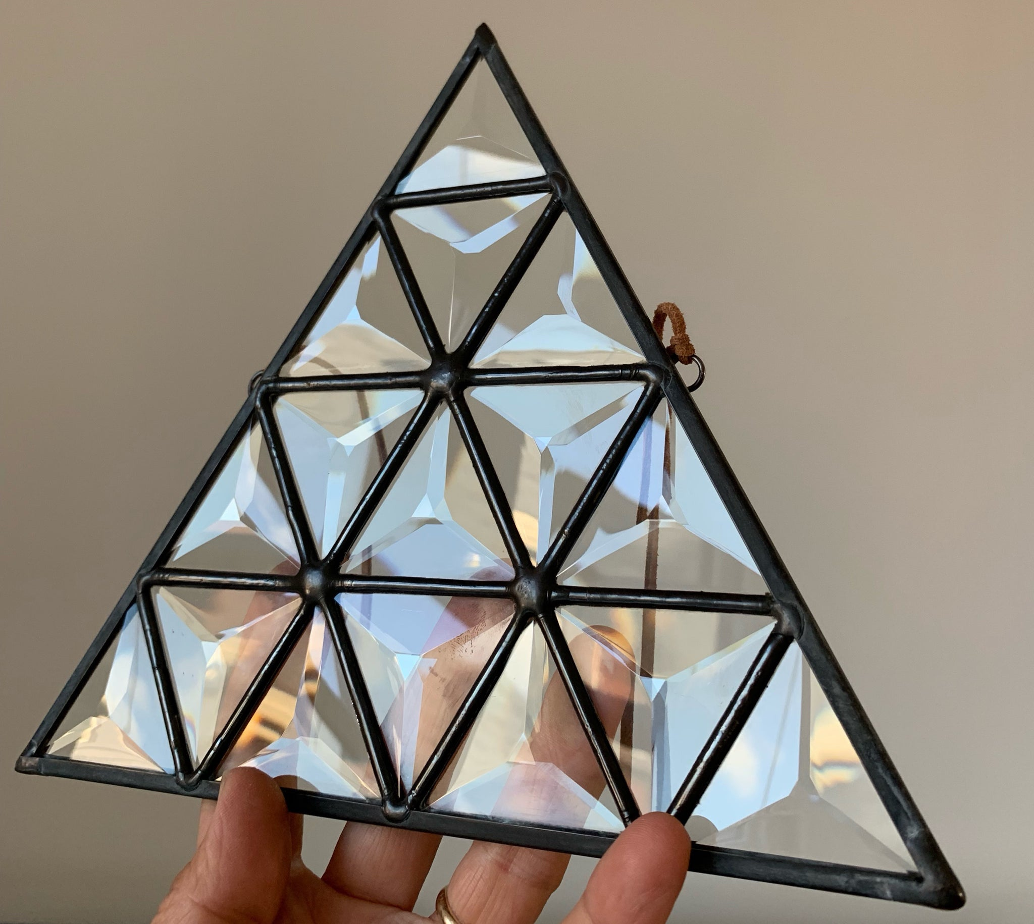 Beveled Triangle of Triangles