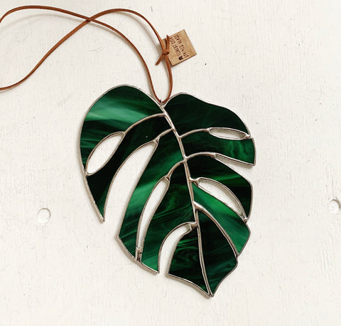 Monstera Leaf • Emerald