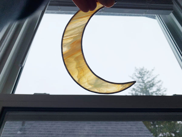 "Sunset • 5.5"" Crescent Moon"