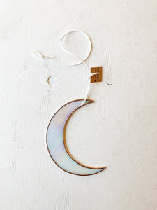 Copper Moon • Iridescent White