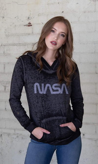 Recycled Karma NASA Long Sleeve Hoodie