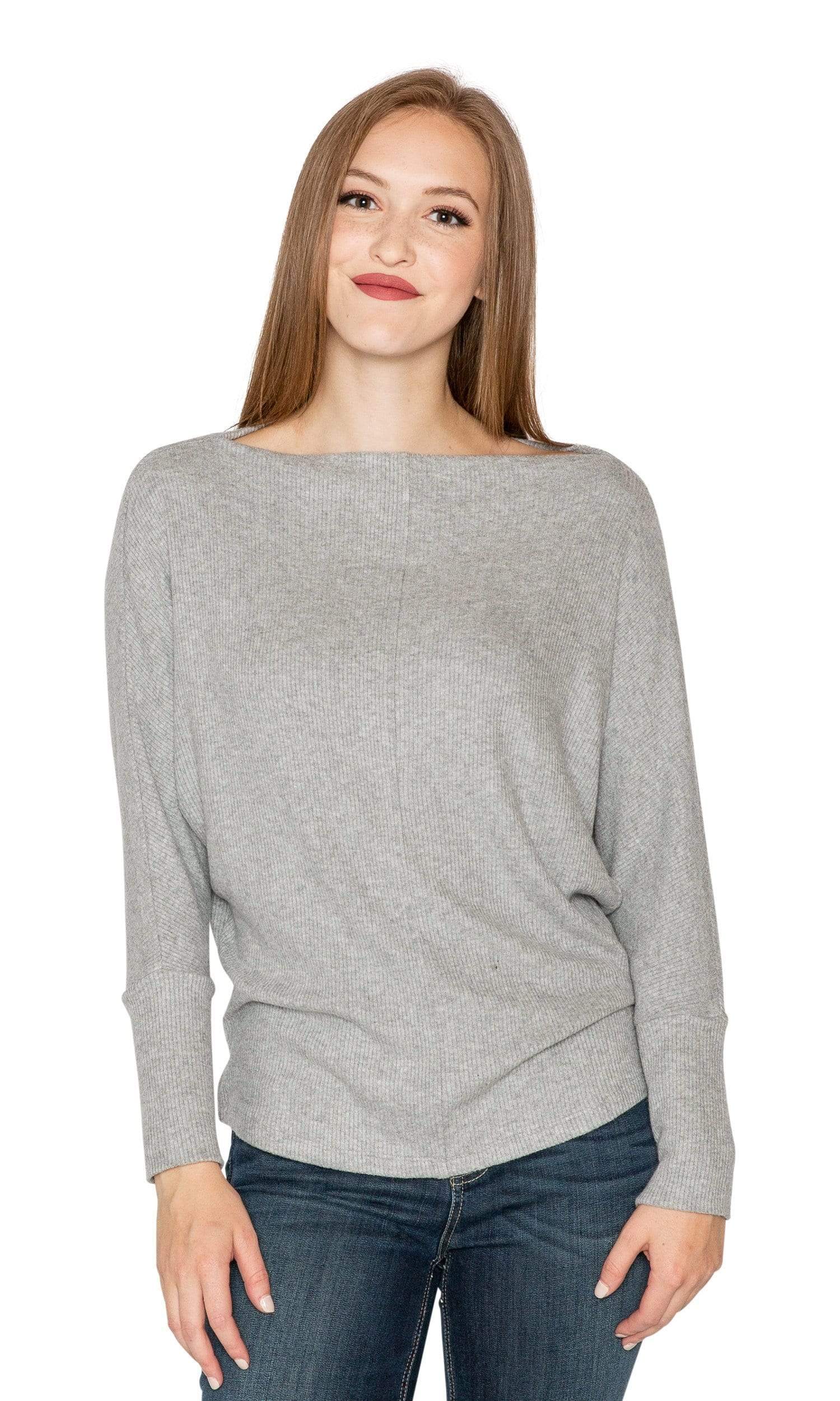 Velvet by Graham & Spencer Borsala Cozy Rib Dolman Top