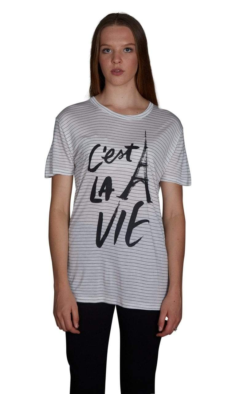 Valln Perfect Scoop Tee - C'est La Vie