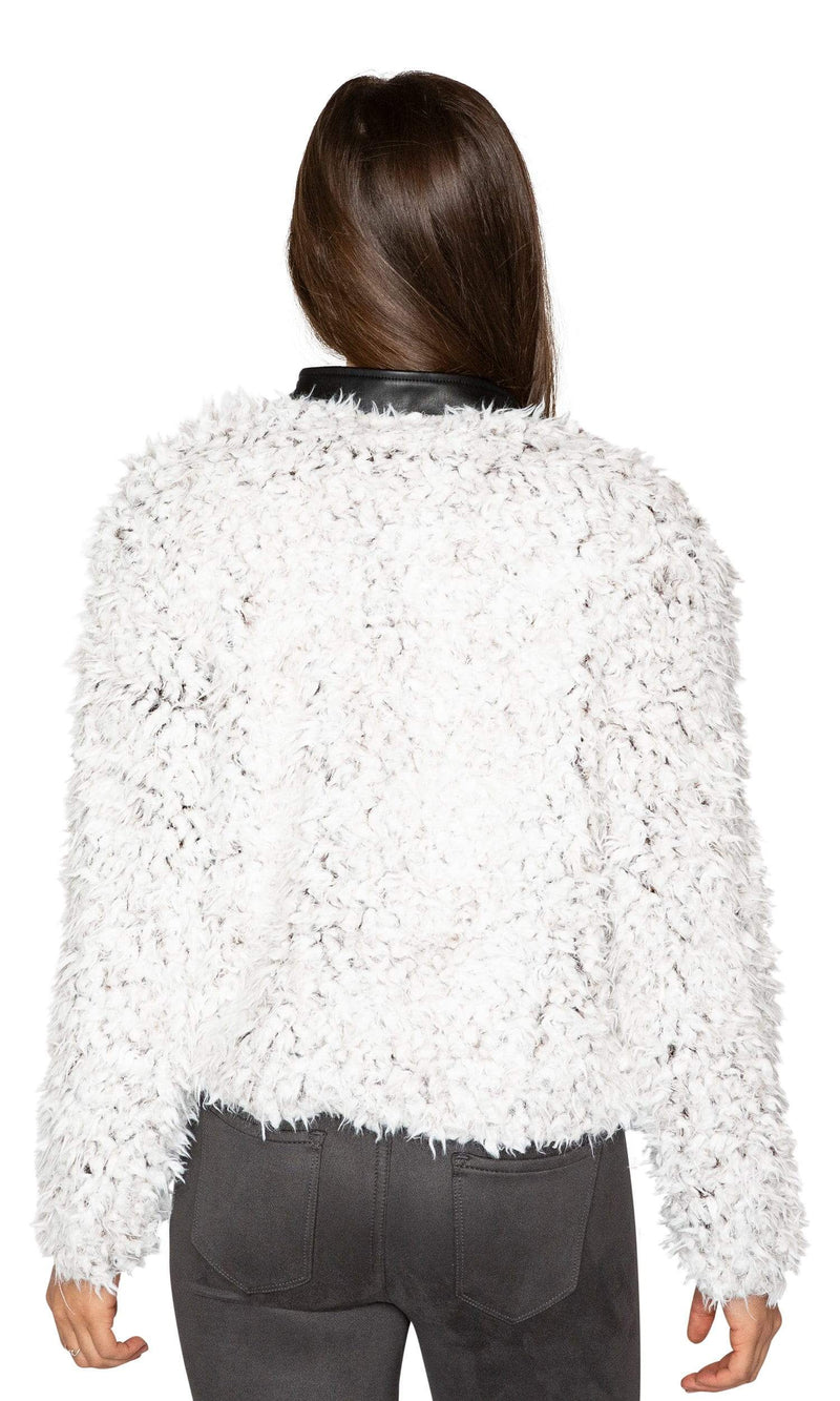 Love Token Priscilla Faux Fur Jacket