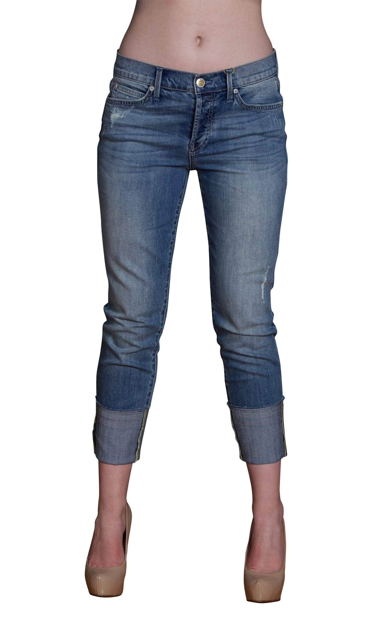 Level 99 Morgan Slouchy Straight Denim - Sicily