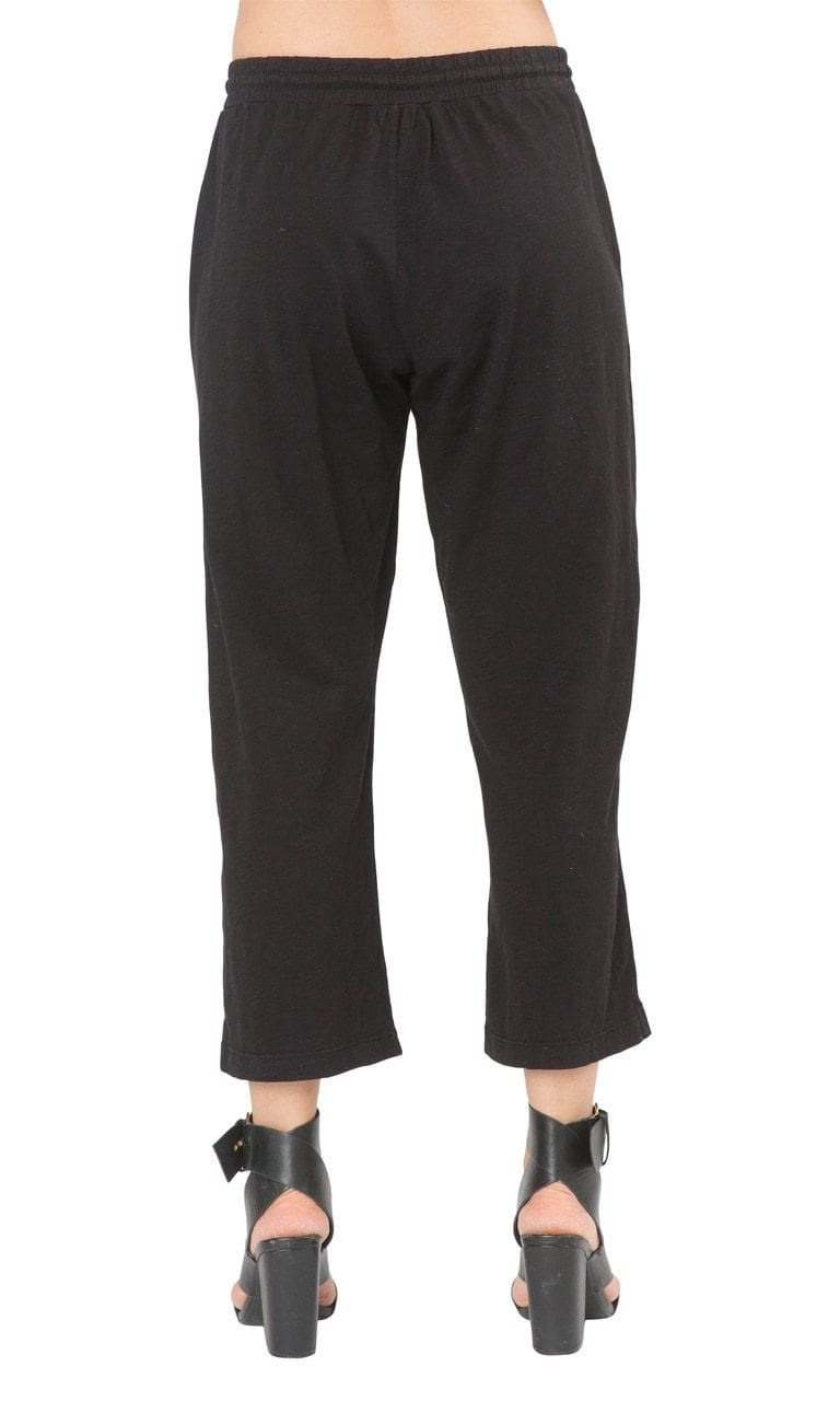 Velvet by Graham & Spencer Phoebe Cotton Slub Cropped Pants