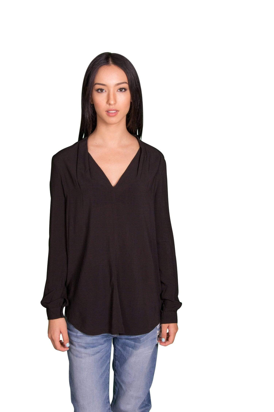 Velvet by Graham & Spencer Sarafina Challis Peasant Tunic