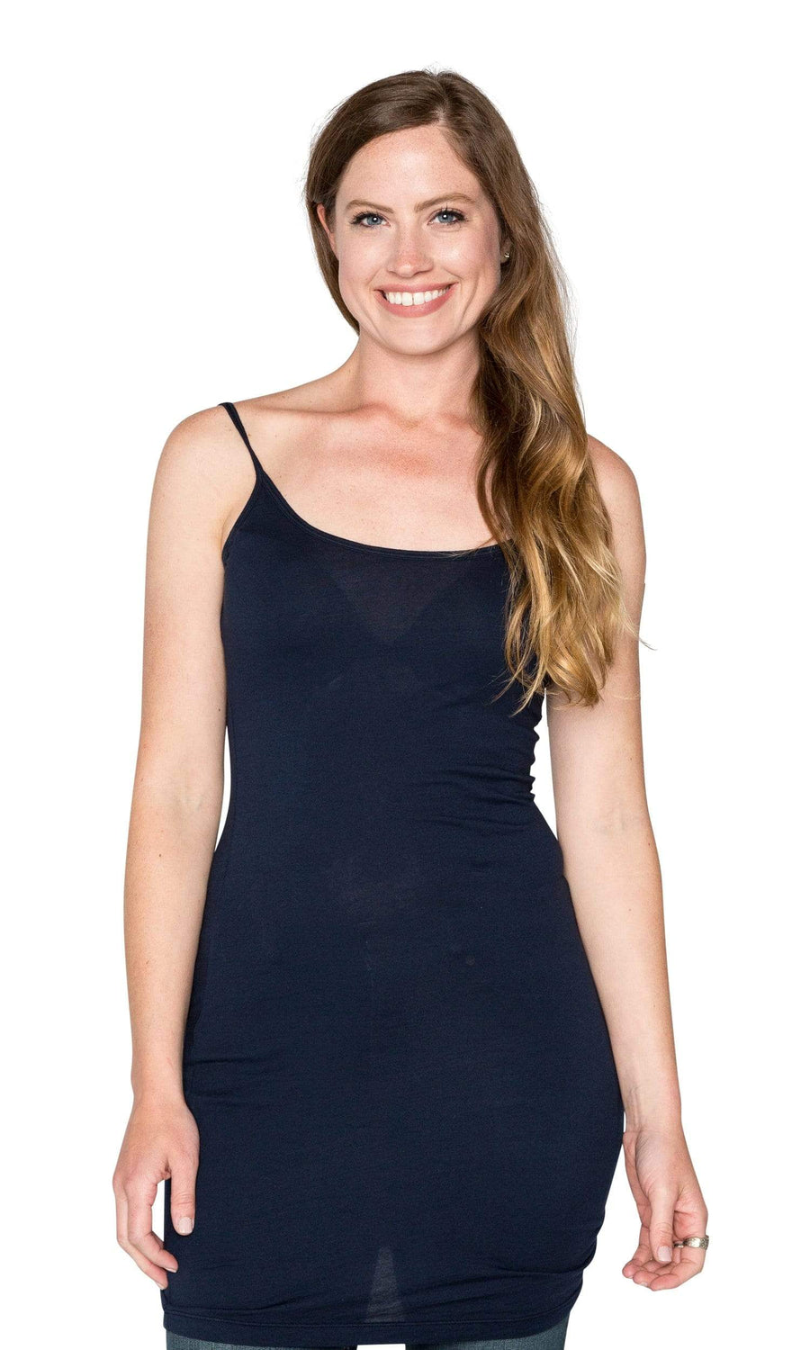 Velvet by Graham & Spencer Scarlett03 Gauzy Whisper Long Tank Top