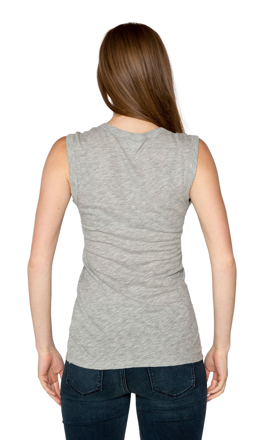 Velvet by Graham & Spencer Estina05-L Gauzy Whisper Scoop Neck Tank Top - LHG