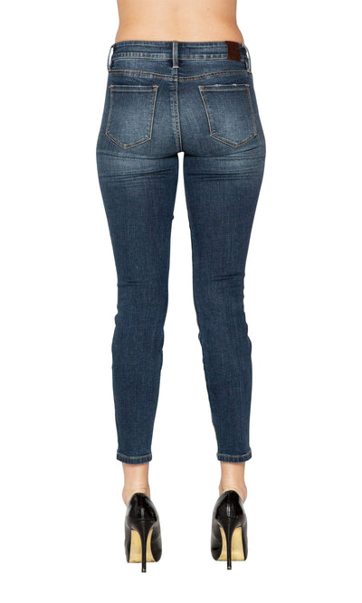 Level 99 Madison Mid-Rise Cropped Skinny Jean