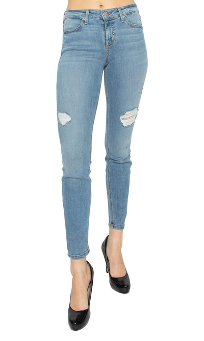 Level 99 Janice Mid Rise Ultra Skinny Jeans