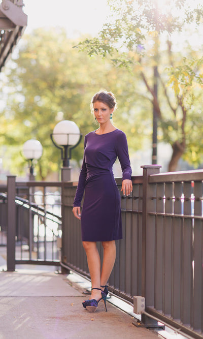 Velvet by Graham & Spencer Virida Gathered Dress