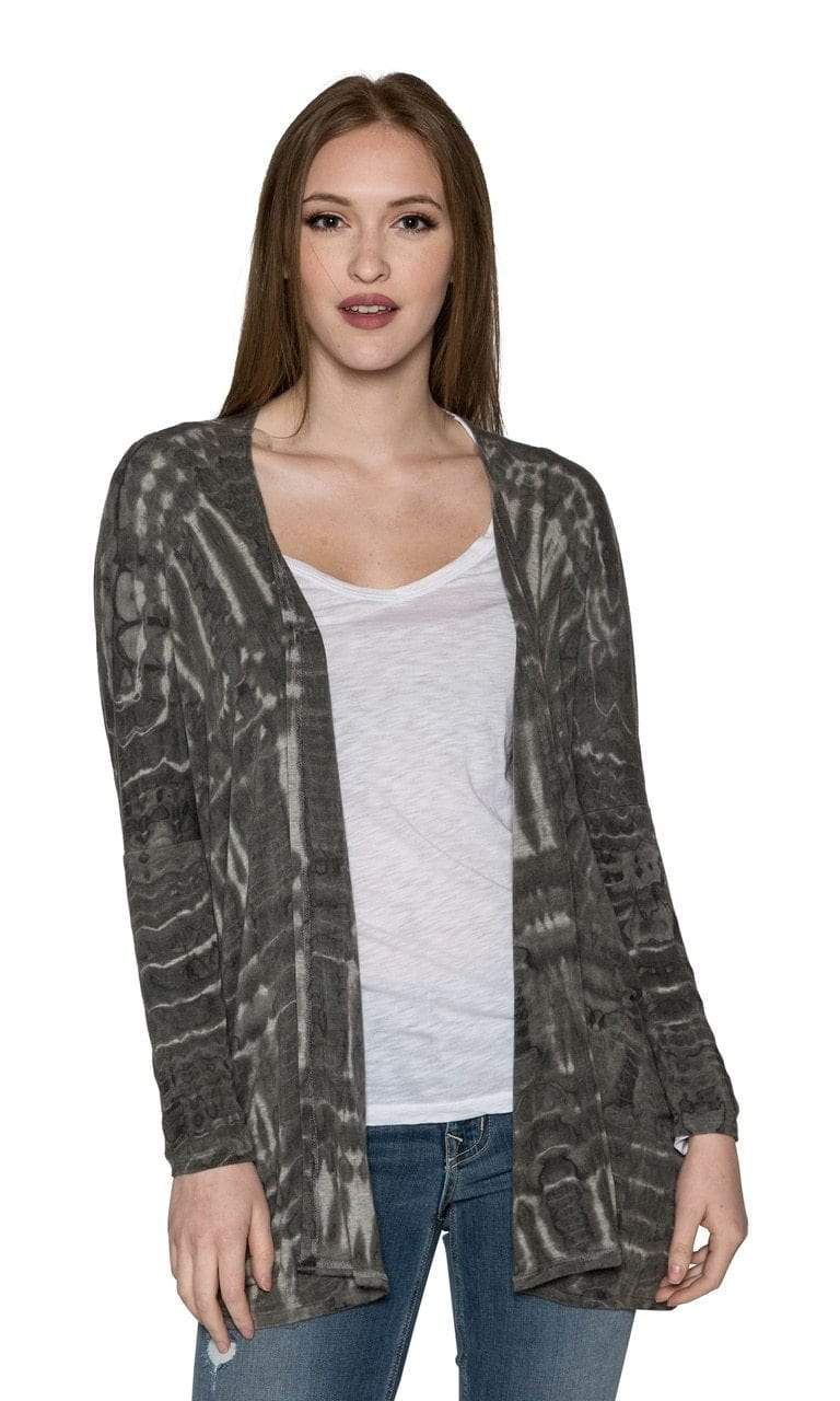 River + Sky Night Out Tie Dye Cardigan